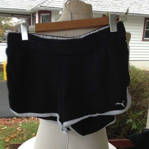 Womans Puma Shorts.